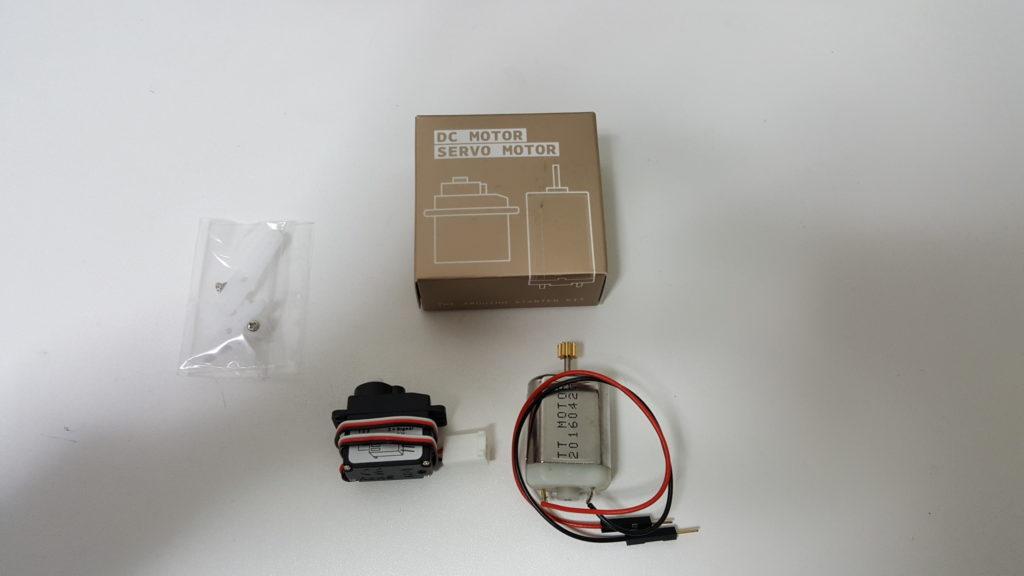 The Arduino Starter Kit DC MOTOR / SERVO MOTOR